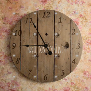 Newborn Birth Time Clock Digital Backdrop (.PSD Files)