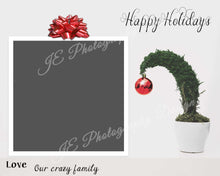 "Load image into Gallery viewer, Happy Holidays Christmas Card ""Grinch Tree"""