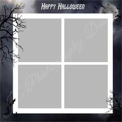 Halloween Border and Grid (4 box and 9 box)