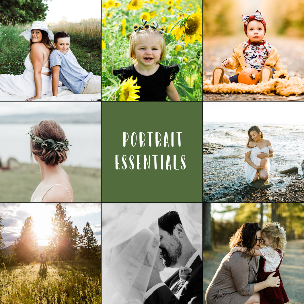 Portrait Essentials Lightroom Presets