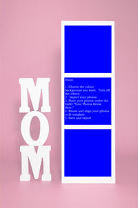 Mom 3 Box Vertical Template