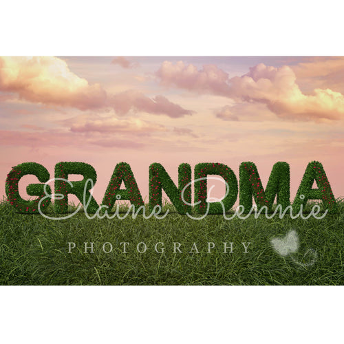 Mothers Day (Grandma) Digital Background