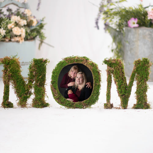 MOM Greenery (2 Backgrounds Included)
