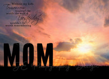 Load image into Gallery viewer, Silhouette MOM Digital Template