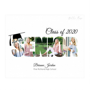 Class of 2020 - Graduation - Senior - Letter Template