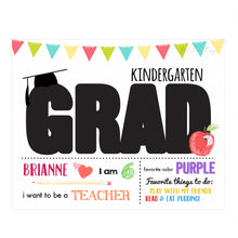 Load image into Gallery viewer, Graduation - Elementary School - Grad Overlay - Letter Template