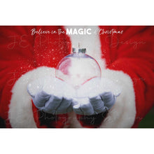 Load image into Gallery viewer, Santa Christmas Ornament (With Magic)