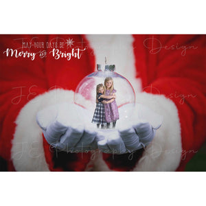 Santa Christmas Ornament (With Magic)