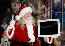 Load image into Gallery viewer, Santa Magic- Clipping Mask Template