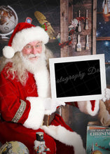 Load image into Gallery viewer, Cheerful Santa Sign - Clipping mask
