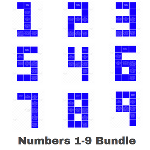 Numbers 1-9 Bundle