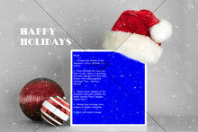 Load image into Gallery viewer, Single or 4 Box Santa Hat & Ornaments Template