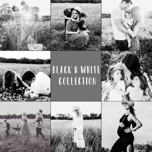 Black & White Complete Collection Lightroom Presets