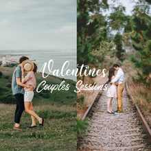 Load image into Gallery viewer, Valentine's Day Sessions Word Art Overlays