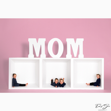 Load image into Gallery viewer, Mom 3 Box Horizontal Template