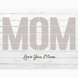 MOM Photo Collage Template