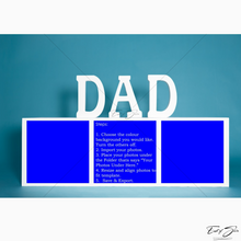Load image into Gallery viewer, Father's Day 3 Box Horizontal Template