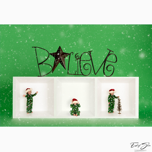 Believe 3 Box Grid Template