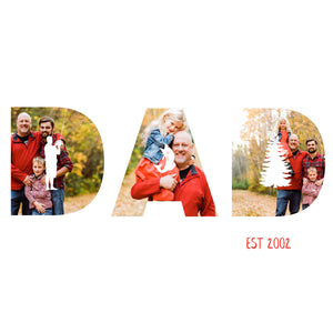 Father's Day DAD Themed Template (Pick 1 of 4 Designs)