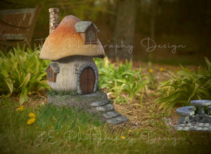 I shrunk the Kids - Fairy Home Digital Backdrop
