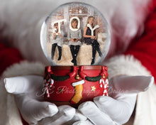 Load image into Gallery viewer, Santa Christmas Snowglobe - CLIPPING MASK