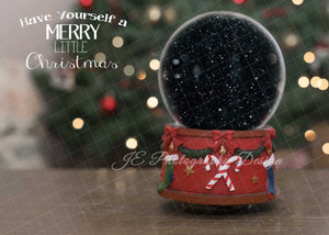 Christmas Snowglobe - with Clipping Masks