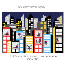 Load image into Gallery viewer, Superhero City | Multi box | 1-12 box | customisable