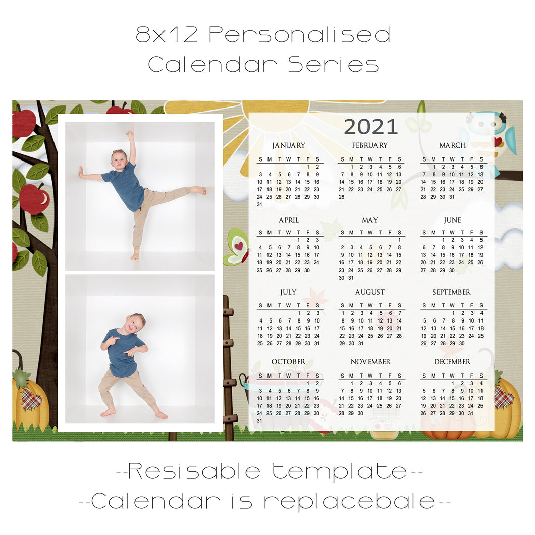Apple Harvest Calendar Series 2 box