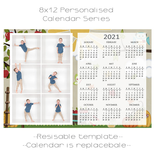 Apple Harvest Calendar Series 6 box