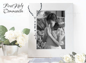 First Holy Communion - Photo Template