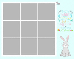 Easter Sayings In the Box TEMPLATE - 4 and 9 Box