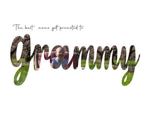Grammy Mother's Day word art template