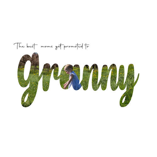 Granny Mother's Day word art template