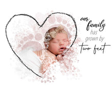 Load image into Gallery viewer, Two feet - newborn - watercolor template