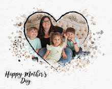 Load image into Gallery viewer, Mother's Day Heart - watercolor template