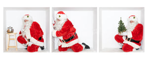 "SANTA ""in the Box"" Bundle #5 - includes 3 Santa images JPEG"
