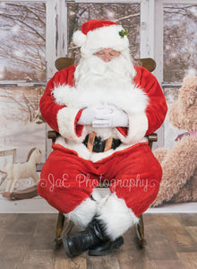 "Santa ""Digital Backdrop"" - Great for Kids and Newborns"