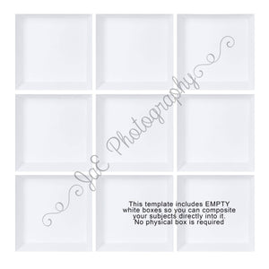 9 Box White grid WITH White Box Images