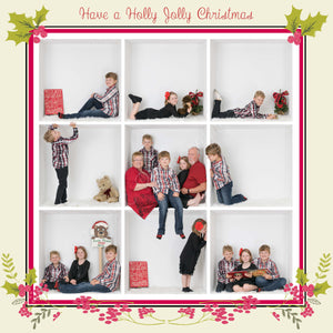 Christmas Border Bundle (o holy night and Holly Jolly)