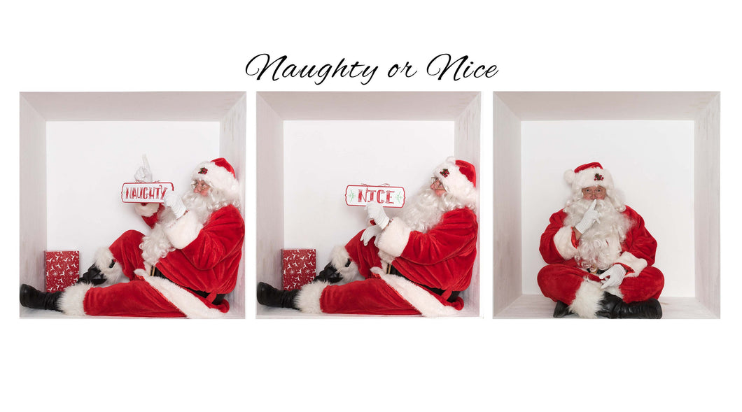 SANTA In The box Bundle 1- Naughty or Nice ( Bundle of 3)