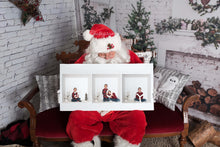 "Load image into Gallery viewer, Santa ""Digital Backdrop"" - Victorian couch & Fireplace ( 5 images )"