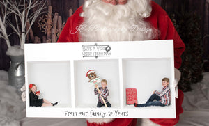 "Santa ""Digital Backdrop"" - Santa Up Close (5 images bundle)"