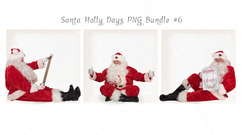 Santa PNG Bundle #6 (3 included)
