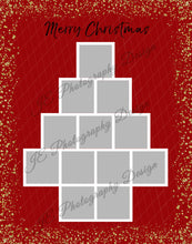 Load image into Gallery viewer, Christmas Tree Grid template - 3 sizes
