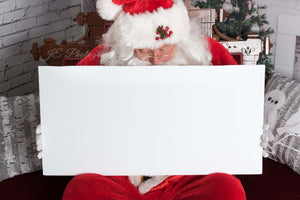 "Santa ""Digital Backdrop"" - Victorian couch & Fireplace ( 5 images )"