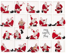 Load image into Gallery viewer, Santa PNG Bundle #5