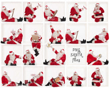 Load image into Gallery viewer, Santa PNG Bundle #6 (3 included)