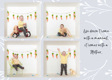 Load image into Gallery viewer, Mother's Day card template - various sizes