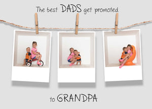 Father's Day card templates - 2 sizes