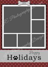 Load image into Gallery viewer, Happy Holidays Christmas Card - for 5x7
